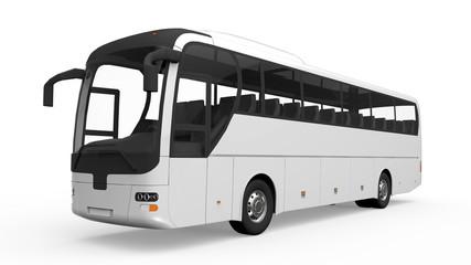 Big White Tour Bus