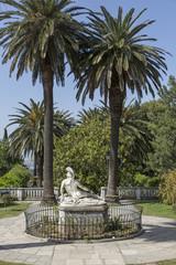 Statue de Achilleion im Achilleion auf Korfu