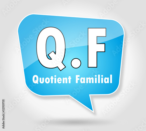 Bulle : Quotient Familial