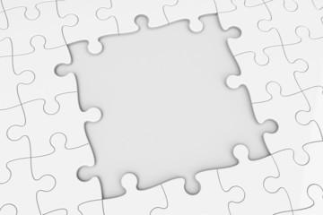 Puzzle square gap