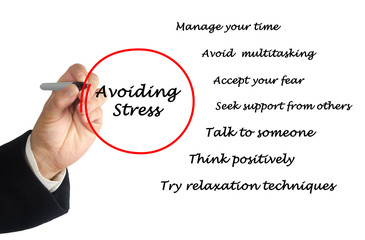 Avoiding stress