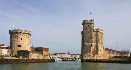 L'entrée du port de La Rochelle