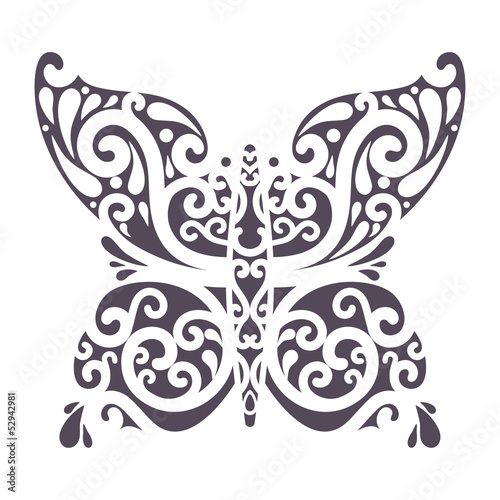 ornate butterfly