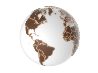 Globe - isolated