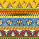 Tribal aztec seamless pattern.