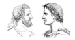 Ancient Rome : 2 Emperors - Portraits