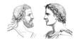 Ancient Rome : 2 Emperors - Portraits