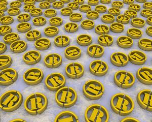 Символы зарегистрированной торговой марки