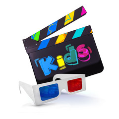 CLAP KIDS + LUNETTES 3D