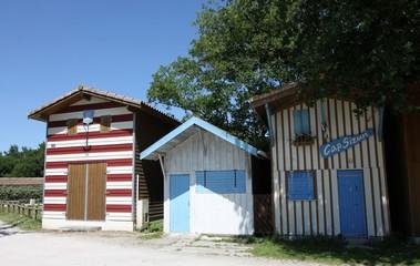 cabanes de pêcheur,bassin d'arcachon