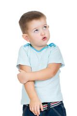 upset kid boy