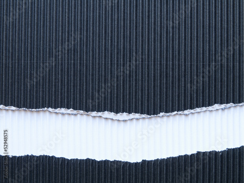black corrugated paperboard recycling