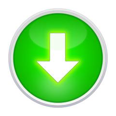 pfeil download button grün