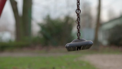 missing child on a swing