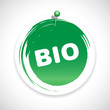 bio button icon green