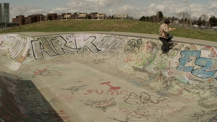 Skateboarder Backflip
