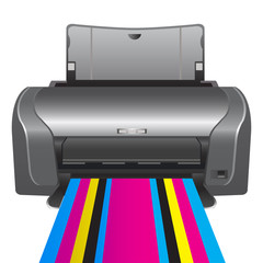 Printer. color printing.