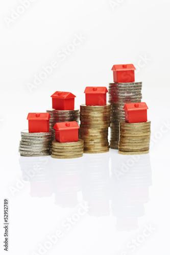 Geldmünzen, Monopoly-Hotels 2