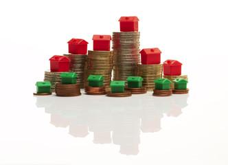 Geldmünzen, Monopoly-Skyline 1