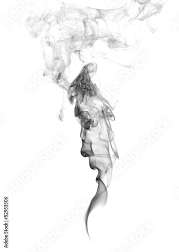 Fotobehang Rook Abstract Smoke