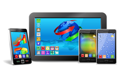 Mobile electronics.