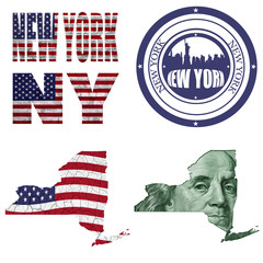 New York state collage