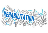 "Word Cloud ""Rehabilitation"""