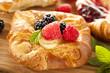 Homemade Gourmet Danish Pastry