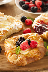 Homemade Gourmet Danish Pastry
