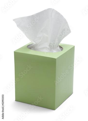 Leinwanddruck Bild Tissue Box