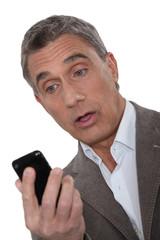 mature gentleman stunned at sms