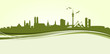 Skyline München grün