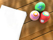 Easter eggs notebook