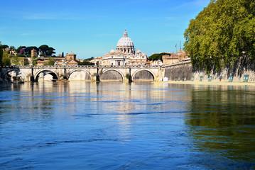Fiume Tevere, Ponte Sant'Angelo, Roma