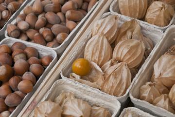 Obst in Schalen