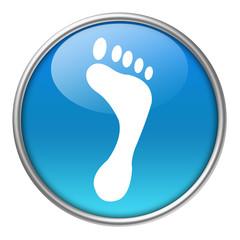 Bottone vetro impronta piede