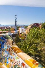 Gaudì's Parc Guell in Barcelona