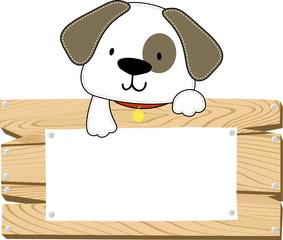 puppy blank board