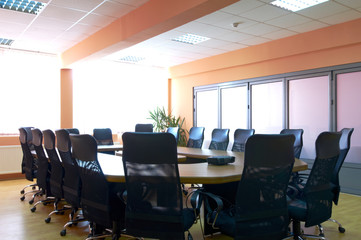 Business meeting room