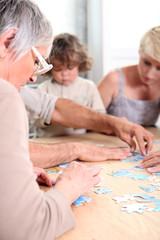 Quiet family activity