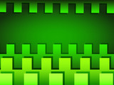 Green horizontal abstract background
