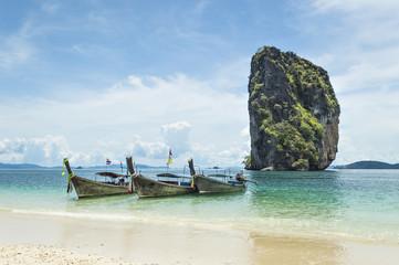 Longtail near Poda island, Krabi province, Thailand