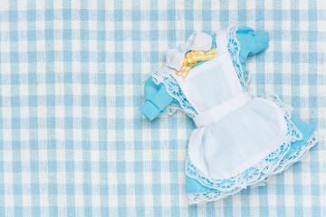 miniature maid outfit