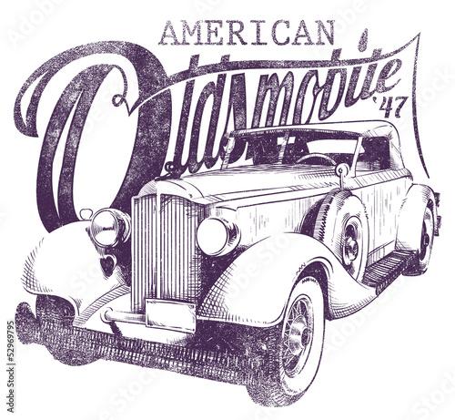 Oldsmobile © Tshirt-Factory.com