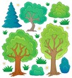 Tree theme collection 1