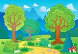Tree theme landscape 1