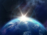 Planet sunrise - 52971552
