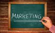 Kreidetafel - Marketing