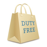 Duty free shopping bag