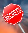 Secrets concept.